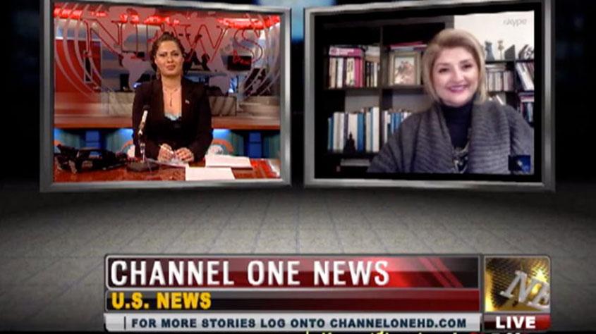 Historische Perzische Kleding Ontwerp, Mary Entez: Channel One News 25-01-2013
