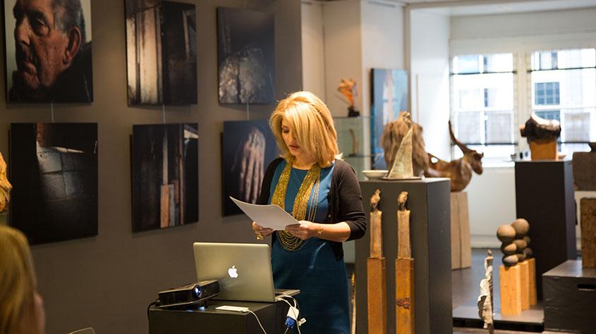 Presentaties, Lezingen - Historische Perzische Kleding Ontwerp - DA&D, Den Bosch - 2013
