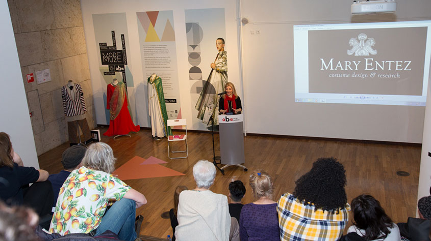 Presentaties, Lezingen - Historische Perzische Kleding Ontwerp - Mode Muze - OBA Amsterdam, 2017