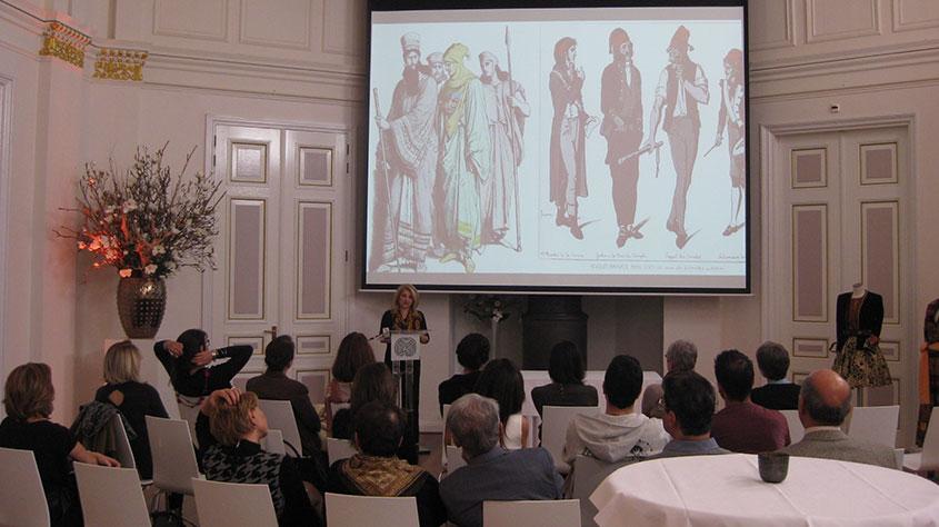 Presentaties, Lezingen - Historische Perzische Kleding Ontwerp - Wereldmuseum Rotterdam 2015