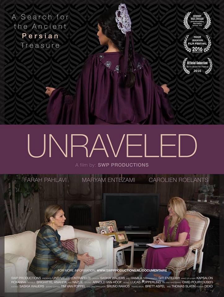 Unraveled Documentaire, Historische Perzische Vrouwelijke Kostuums Onderzoek
